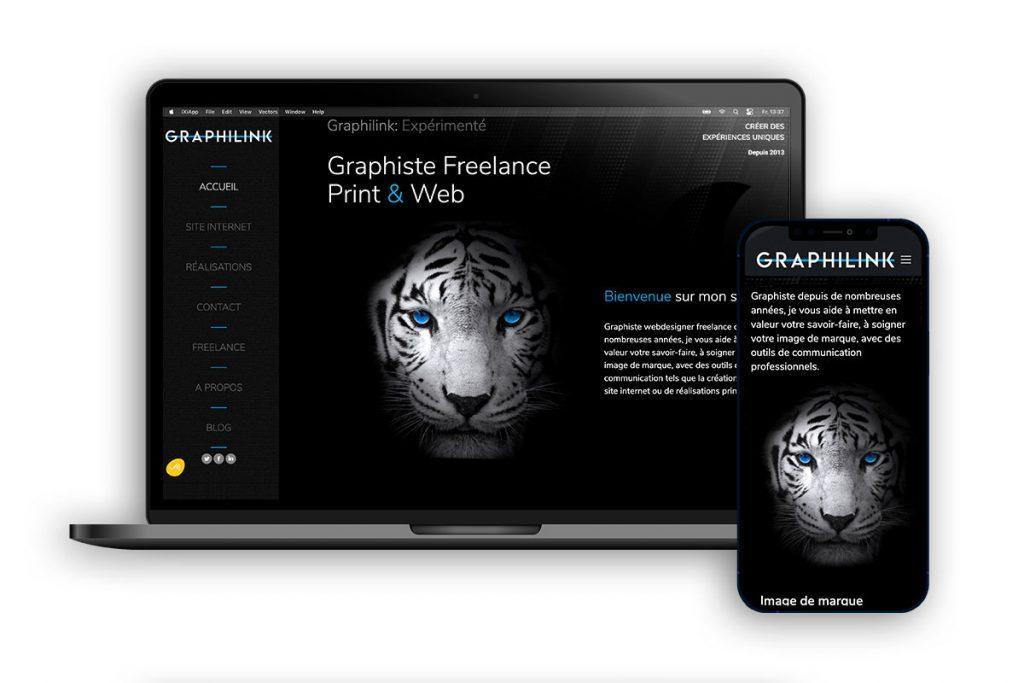 Graphilink, conception de site internet